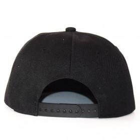 Topi Baseball Snapback QUEEN - Black - 3
