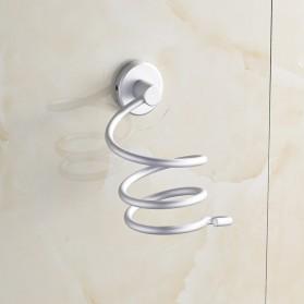 Rak Holder Hair Dryer Aluminium - Silver - 4