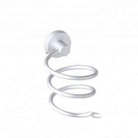Rak Holder Hair Dryer Aluminium - Silver - 7
