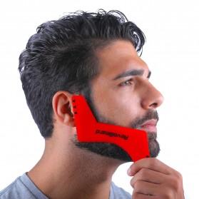 RevoBeard Template Stylish Cukur Jenggot - Red