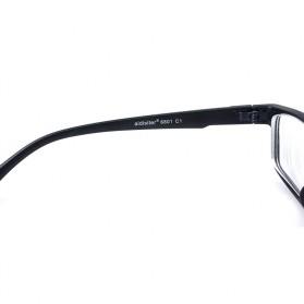 Aidister Kacamata Rabun Jauh Lensa Minus 1.0 - 6801 - Black - 5