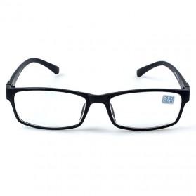 Xojox Kacamata Rabun Jauh Lensa Minus 1.5 - CJ070 - Black - 2