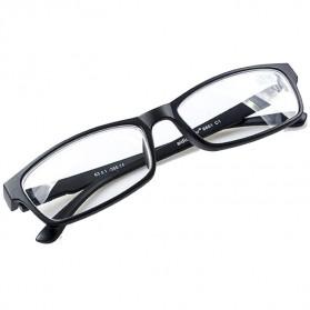 Xojox Kacamata Rabun Jauh Lensa Minus 3.0 - CJ070 - Black - 6
