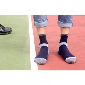 XIUWEI Tube Kaos Kaki Olahraga Sport Socks - T73001 - Dark Blue - 3