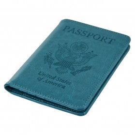 Cover Paspor United State of America - Green - 4