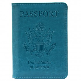 Cover Paspor United State of America - Green - 6