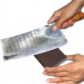 Aihogard Nano Melamine Magic Sponge Pembersih Karat Besi - CW62631 - Brown - 4