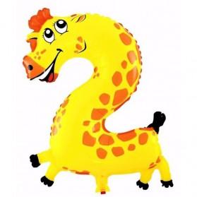 Balon Pesta Ulang Tahun Bentuk Binatang - Model 2 - Multi-Color