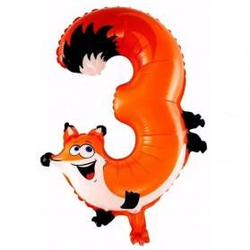 Balon Pesta Ulang Tahun Bentuk Binatang - Model 3 - Multi-Color