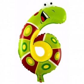 Balon Pesta Ulang Tahun Bentuk Binatang - Model 6 - Multi-Color