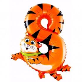 Balon Pesta Ulang Tahun Bentuk Binatang - Model 8 - Multi-Color