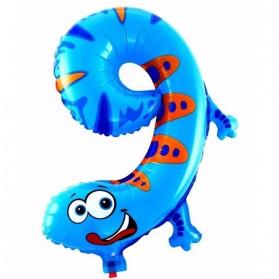 Balon Pesta Ulang Tahun Bentuk Binatang - Model 9 - Multi-Color