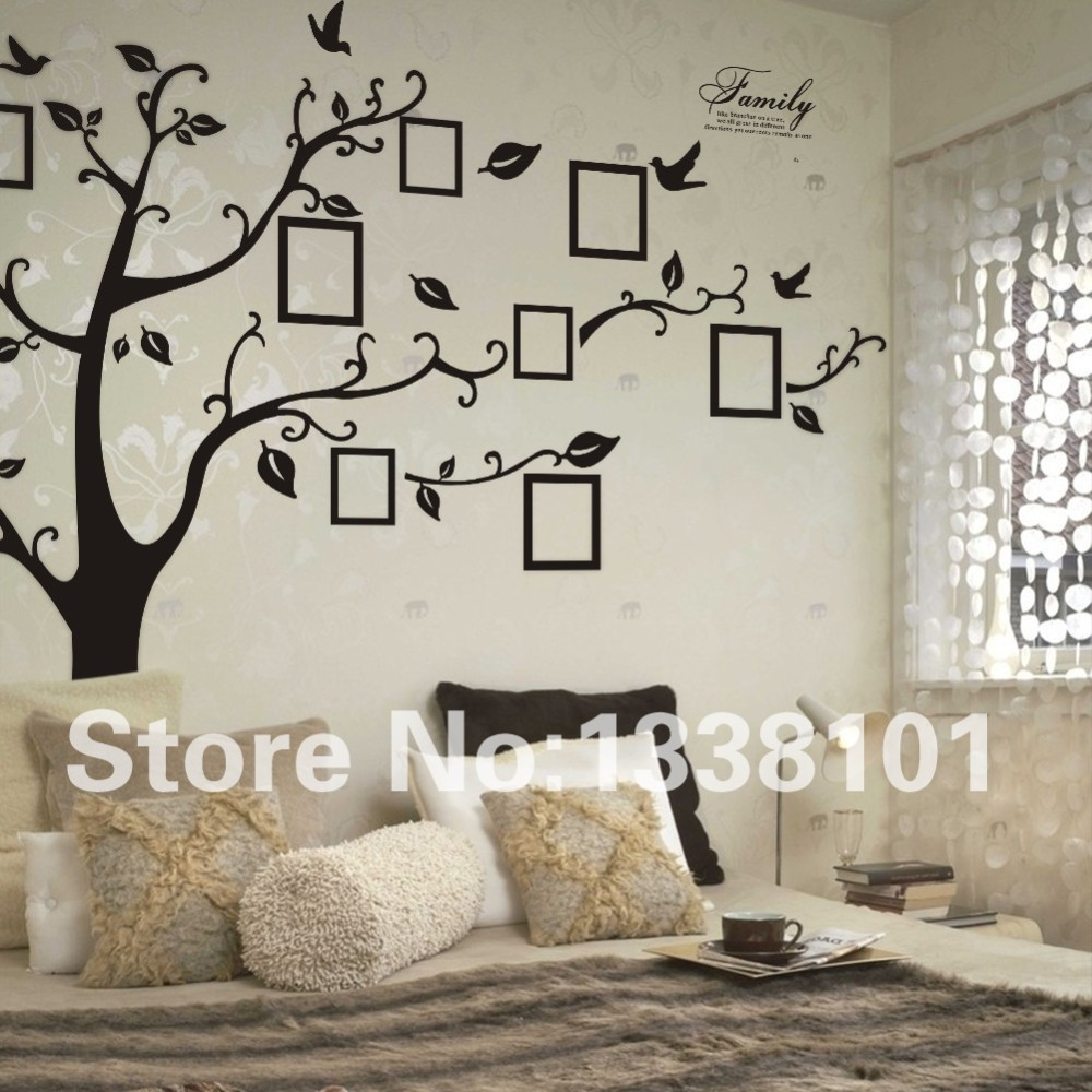 Sticker Wallpaper Dinding Tree Black JakartaNotebook