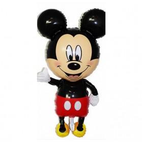 Peralatan Rumah Tangga - Balon Pesta Anak Disney Mickey Mouse - Red
