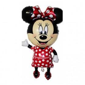 Peralatan Rumah Tangga - Balon Pesta Anak Disney Minnie Mouse - Red
