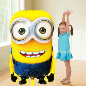 Balon Pesta Ulang Tahun Minions 92x63cm - MX-001 - Yellow