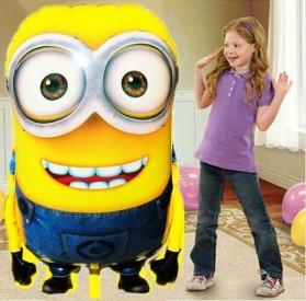 Balon Pesta Ulang Tahun Minions 92x63cm - MX-001 - Yellow - 4