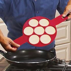 Cetakan Pancake Maker 7 Hole - JSC2558 - Red - 5