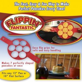 Cetakan Pancake Maker 7 Hole - JSC2558 - Red - 6