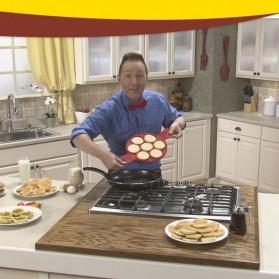 Cetakan Pancake Maker 7 Hole - JSC2558 - Red - 8