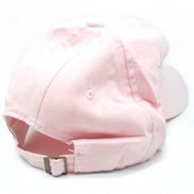Topi Baseball Hip Hop Polos - TB-03 - Pink - 2