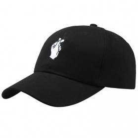 Topi Baseball Snapping - Black