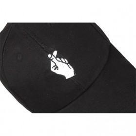 Topi Baseball Snapping - Black - 6