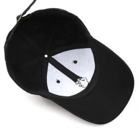 Topi Baseball Snapping - Black - 7