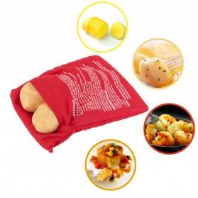 Tas Panggang Memasak Microwave - Red