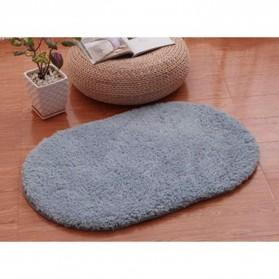 Karpet Lembut Anti Slip 40 x 60 cm - Blue/Gray