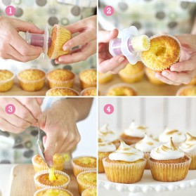 Cetakan Lubang Cupcake - Multi-Color - 4