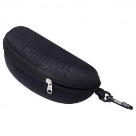 TaffSPORT Kotak Kacamata EVA Hardcase Waterproof - Black - 4