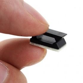 Klip Kabel Tempel untuk Manajemen Kabel 30 PCS - LP124 - Black - 2