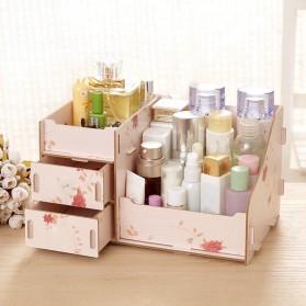 DIY Kotak Kosmetik Kayu L Size - Multi-Color