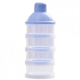 Botol Stacko Dispenser Susu Bubuk dan Makanan Bayi 3 Grid - Blue