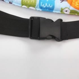 Strap Kepala Stroller Bayi - Blue - 6