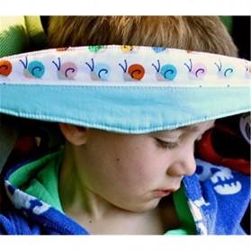 Strap Kepala Stroller Bayi - Blue - 7