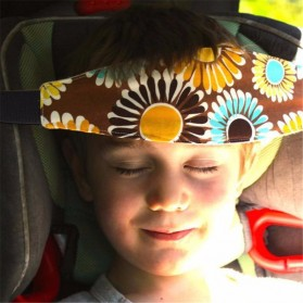 Strap Kepala Stroller Bayi - Blue - 8