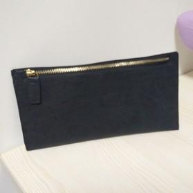 Dompet Clutch Wanita Soft Color - Black
