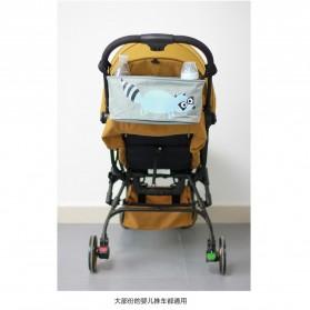 Tas Keranjang Perlengkapan Bayi untuk Stroller Kereta Dorong Bayi - White - 7