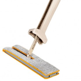 Bwohops Alat Pel Magic Mop Flat Rotary Double Side - B38 - Khaki