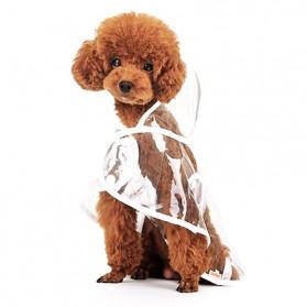 Hooper Jas Hujan Anjing Imut - Size M - Green - 6