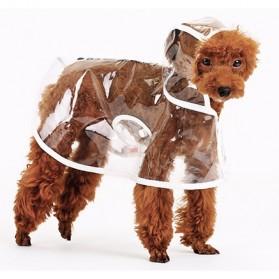 Hooper Jas Hujan Anjing Imut - Size M - Green - 7