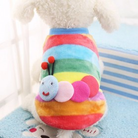 Baju Sweater Anjing Motif Kartun Size L - Multi-Color