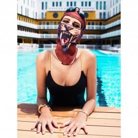 Facekini Topi Renang Topeng Full Face Model Animal - BB06 - 2