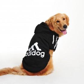 Adidog Baju Jaket Hoodie Anjing Size XL - Red - 2