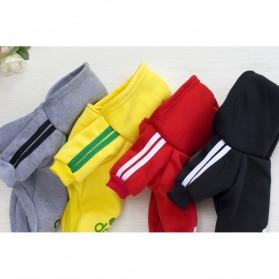 Adidog Baju Jaket Hoodie Anjing Size XL - Red - 3