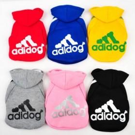 Adidog Baju Jaket Hoodie Anjing Size XL - Red - 5