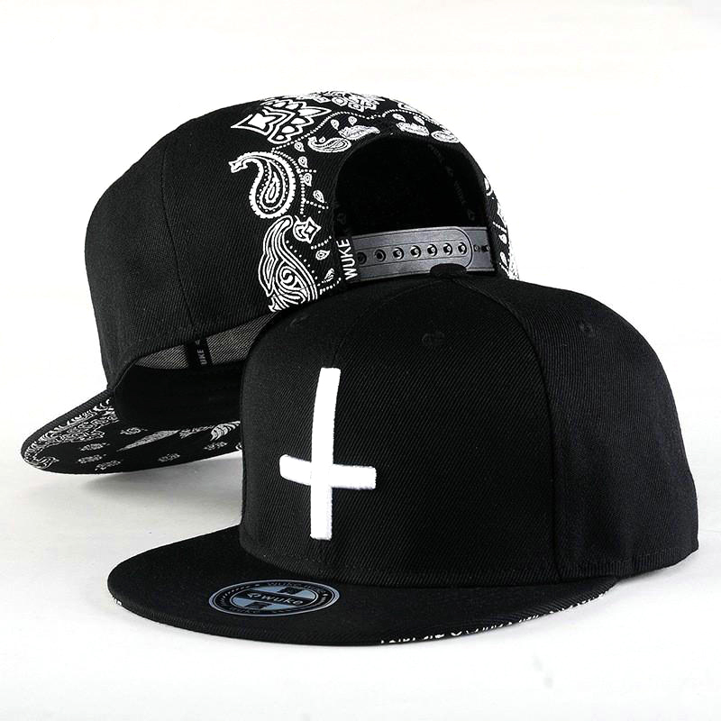 Wuke Topi Snapback Cross - Black - JakartaNotebook.com 5baf07da62