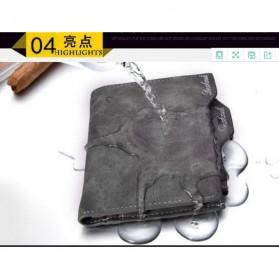 Dexbxuli Dompet Kulit Pria Unplugged - 820-2 - Gray - 3